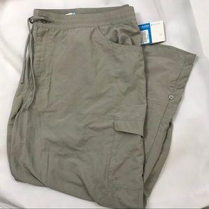 Plus size Columbia outdoor pants